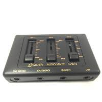 CAM-3は電源不要のマイクロホンミキサーです。 ビデオカメラのミキシング同時録音や生録等、アイデア...