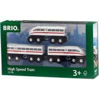 ブリオ おもちゃ サウンド付ハイスピードトレイン 電車 北欧 レール
