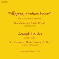Wolfgang Amadeus Mozart  Streichquartett B-Dur KV4...