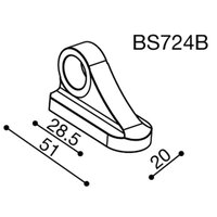 ヨーロッパ トップシェアのリゾマ社製 ビレットミラー用アダプター  価格は片側分の価格です ヤマハ ...