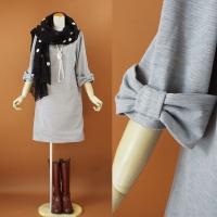 【爆買いセール】商品説明  〓〓〓〓〓〓〓〓  袖にあしらわれたリボンが キュートなスタイル 上品な...