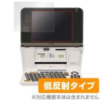 CASIO プリン写ル PCP-2400に対応した低反射タイプの液晶保護シート OverLay Pl...
