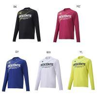デサント メンズ グラフィック ロングスリーブシャツ ジョギング マラソン ランニング ウェア トップス 長袖Tシャツ DRMMJB51