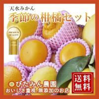 名称 天水柑橘セット 4kg  品種 不知火(デコポン)、河内晩柑、せとか、レモン、チャンドラ  内...