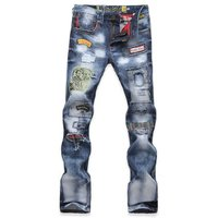 パンツ ミリタリー カーゴパンツ スキニーパンツ スリム ヴィンテージ ファッション ライダースジー...