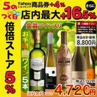 お手頃ワイン「白ワイン」5本セット ☆クロゼリー・サン・ヴァンサン ブラン(白:重口・辛口) ●タイ...