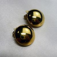 イヤリングパーツ ドイツ製クリップイヤリング プラスティック ゴールド20mm(セット)|vivace-yokohama|04