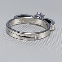 デザインリング フリーサイズ ドイツ製 スワロフスキー カラー:サファイア&ダイヤモンド|vivace-yokohama|04