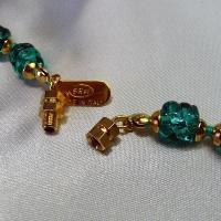ネックレス イタリア製ベネチアングラス 中ロングネックレス 糸結び エリカ ラグーナグリーン 55cm|vivace-yokohama|05