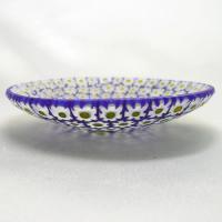 ベネチアングラス皿(小)ミルフィオーリ(白/黄)|vivace-yokohama|05