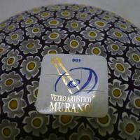 ベネチアングラス皿(小)ミルフィオーリ(白/黄)|vivace-yokohama|06