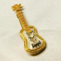 ブローチ  アメリカ製 ギター 小|vivace-yokohama|05