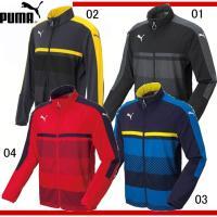 PUMA TWV トレーニングジャケット  フォームストライプを基調とした吸汗速乾機能搭載の昇華プリ...