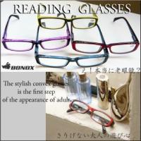 YGF39/定形外郵便送料無料/クリアーパーツがポイントの老眼鏡/Reading Glasses/BONOX/ダルトン