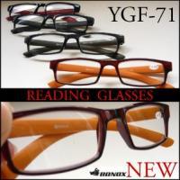 YGF71/定形外郵便で送料無料異素材のコラボのフレームのクラシックモデル/老眼鏡/Reading Glasses/BONOX/ダルトン