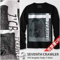 メンズ 長袖Tシャツ【7CF Graphic Code T-Shirt】