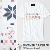 メンズ 半袖Tシャツ【7CF Summer Snow T】
