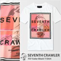 メンズ 半袖Tシャツ【7CF Color Block T-Shirt】