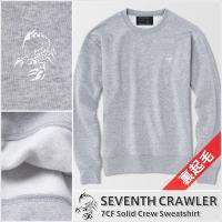 メンズ トレーナー【7CF Solid Crew Sweatshirt】