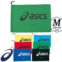 シューバッグ シューズケース シューズ袋 Mサイズ スポーツ 巾着 アシックス ASICS [TZS986] 記念品 卒団 シューズバッグ