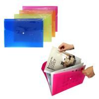 A4サイズの書類ケースです。 じゃばら式で整理しやすいです。  サイズ:A4サイズ 約330×240...