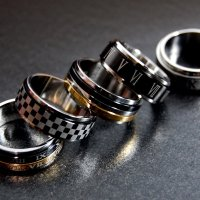 5デザイン ネクタイ リング タイ リング ステンレス メンズ