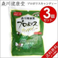 森川健康堂 プロポリスキャンディー 100g×3個セット プロポリスエキス含有 熊本県 はちみつ プロポリス「メール便で送料無料」