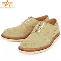 ALPHA アルファ AF1951 WING TIP SUEDE SHOES ウイングチップ スエー...