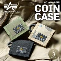 ALPHA アルファ AL-AA015 スクエアコインケースのご紹介です。  品名:COIN CAS...