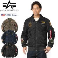 ■関連キーワード ALPHA アルファインダストリーズ メンズ CWU-45P フライトジャケット ...