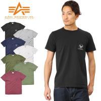 ■関連キーワード ALPHA INDUSTRIES アルファインダストリーズ Tシャツ メンズ 半袖...