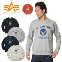 ■関連キーワード ALPAH アルファインダストリーズ メンズ スウェットシャツ AIR FORCE...