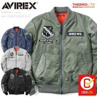 AVIREX アビレックス 6182234 MA-1フライトジャケット X-15 メンズ ミリタリージャケット ジャンパー ブランド【クーポン対象外】