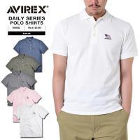 AVIREX アビレックス デイリーウェア 6143493 MELLANGE ポロシャツ 品名:DA...