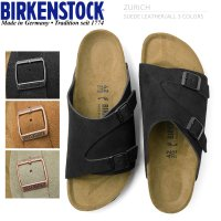 ■商品説明BIRKENSTOCK ビルケンシュトック ZURICH/チューリッヒ スエードレザー サ...