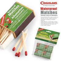 COGHLAN'S コフラン 防水マッチ 4個セット 【品番】11210236000004  COG...