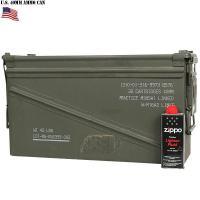 実物 米軍 40MM AMMO CAN(アンモボックス)です。  米軍実物放出品で本来は弾薬箱です。...