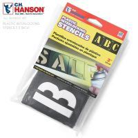 HANSON社 プラスチック・ステンシルプレート 46ピース英数字セットのご紹介です。  U.S.A...