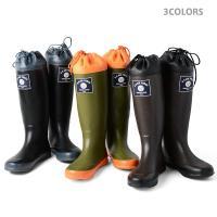 今だけ15%OFF! HOUSTON ヒューストン RAIN BOOTS レイン ブーツ 長靴 ミリタリー パッカブル エアーフォース 6516 ブランド