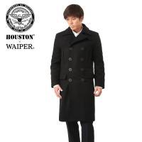 WAIPER別注 HOUSTON ヒューストン ロングメルトンピーコートのご紹介です 品番:15WP...