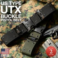 新品 米軍タイプ UTXバックル ピストルベルトのご紹介です。  サバイバルゲームには欠かせないポー...