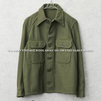実物 米軍ヴィンテージウールシャツジャケットの御紹介です。 正式名称:SHIRT, COLD WEA...