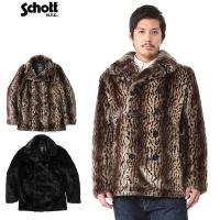 Schott ショット 3142045 レトロ ファー ピーコートのご紹介です。 品名:SCH-RE...