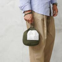 実物 新品 米軍パーソナル エフェクツ バッグのご紹介です。  米軍の円筒形で巾着型コットン製パーソ...