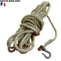 実物 フランス軍 フック付 ロープのご紹介です。  アウトドア、サバイバルに欠かせないアイテムの1つ...