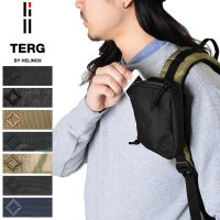 TERG L-ポーチ Sは単体での使用はもちろん、バックパックなどのアクセサリーとしても便利な小型の...