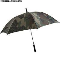 新品 迷彩傘 ウッドランドアンブレラのご紹介です。 迷彩好きには堪らないウッドランド柄のワンタッチ式...