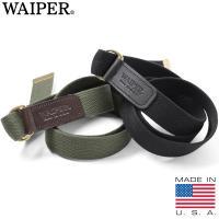 ■関連キーワード WAIPER ワイパー メンズ ベルト 布 キャンバス アメリカ製 米国 USA ...