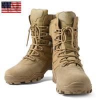■商品説明 米海兵隊で使用されているブーツを再現したコンバットブーツが登場!  素材には柔軟性と曲げ...