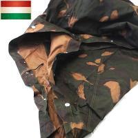 ■商品説明 実物 新品 ハンガリー軍 テントシェル 迷彩のご紹介です。  ポールやペグは除いて、リク...